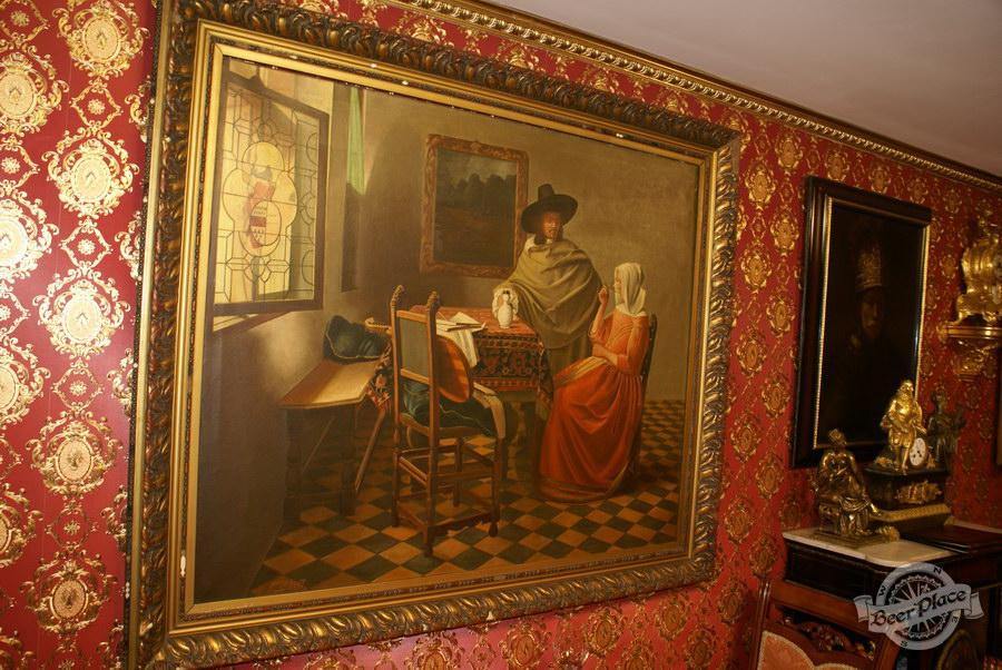 Обзор. Музей-ресторан Антверпен. Картины во французском зале