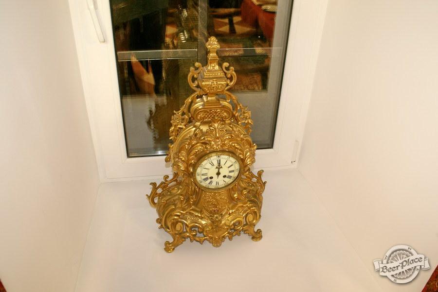 Обзор. Музей-ресторан Антверпен. Часы во французском зале