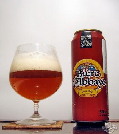 Французское пиво Auchan Bière d'Abbaye