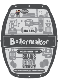 Дегустация Boilermaker Welsh Whisky IPA (Brains Craft Brewery)