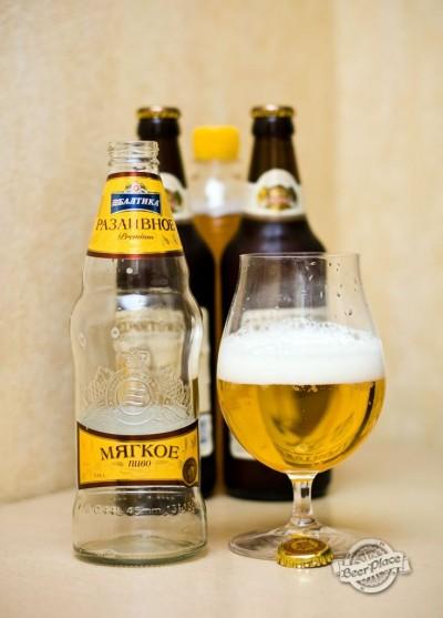 Дегустация пива Балтика Разливное Мягкое