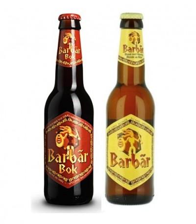 Бельгийское пиво Barbar в Мега Маркете