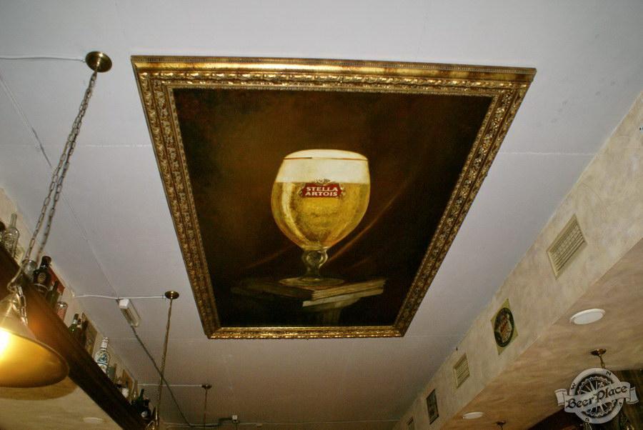 Обзор паба Beer Point  на Подоле. Фото. Картина Stella Artois