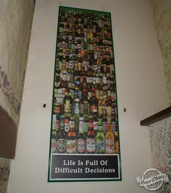 Обзор паба Beer Point  на Подоле. Фото. Тяжелый выбор