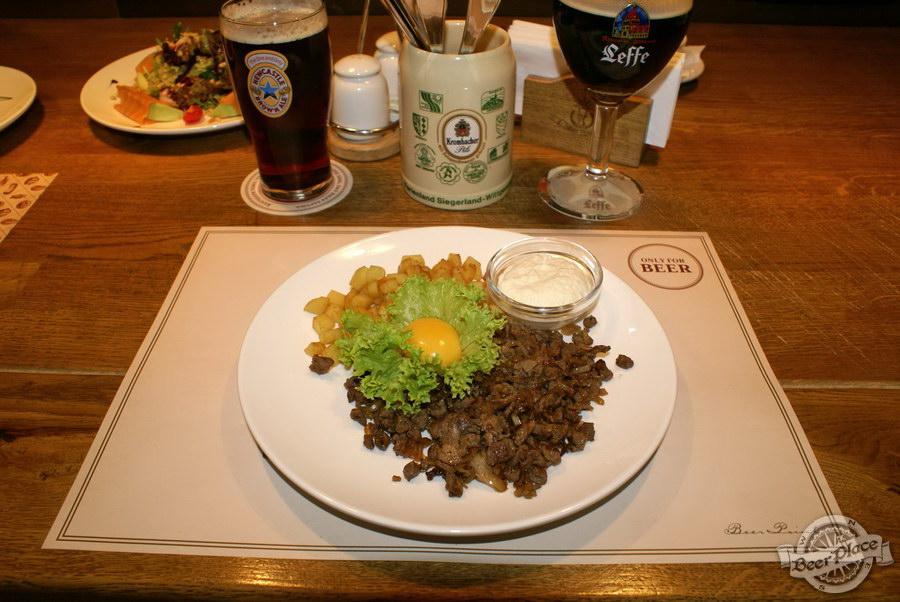 Обзор паба Beer Point на Подоле. Фото. Биф-ридберг из говядины