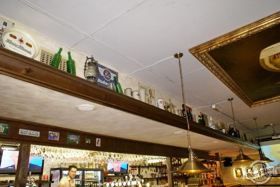 Обзор паба Beer Point  на Подоле. Фото. Экспозиция