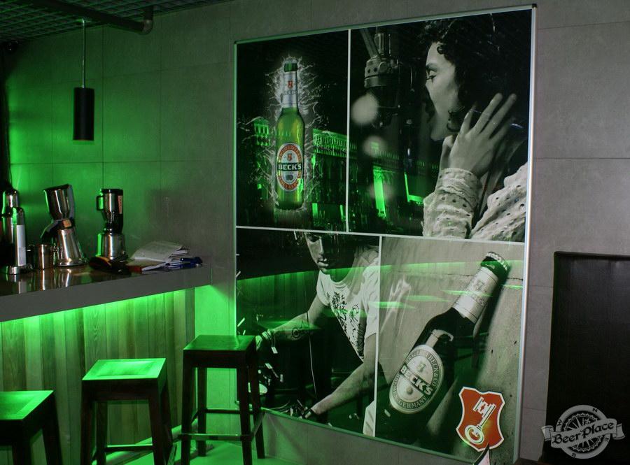 Обзор кафе Becks BeerLoft на Окружной в Ашане. Променада Парк. Основной зал. Концептуальные детали
