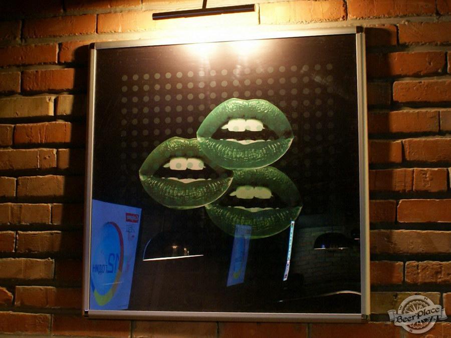 Обзор кафе Becks BeerLoft на Окружной в Ашане. Променада Парк. Основной зал. Картины в пабе
