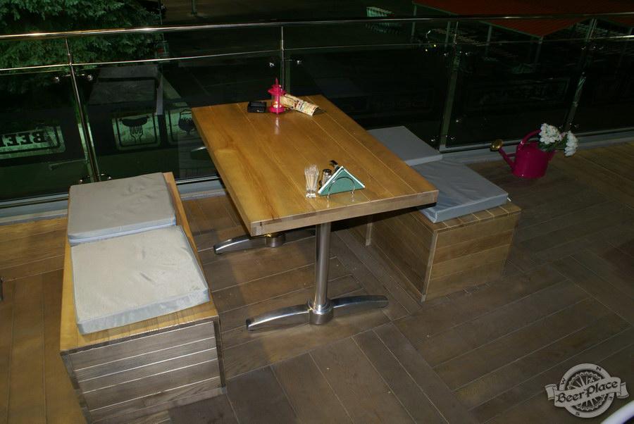 Обзор кафе Becks BeerLoft на Окружной в Ашане. Променада Парк. Летняя тарраса