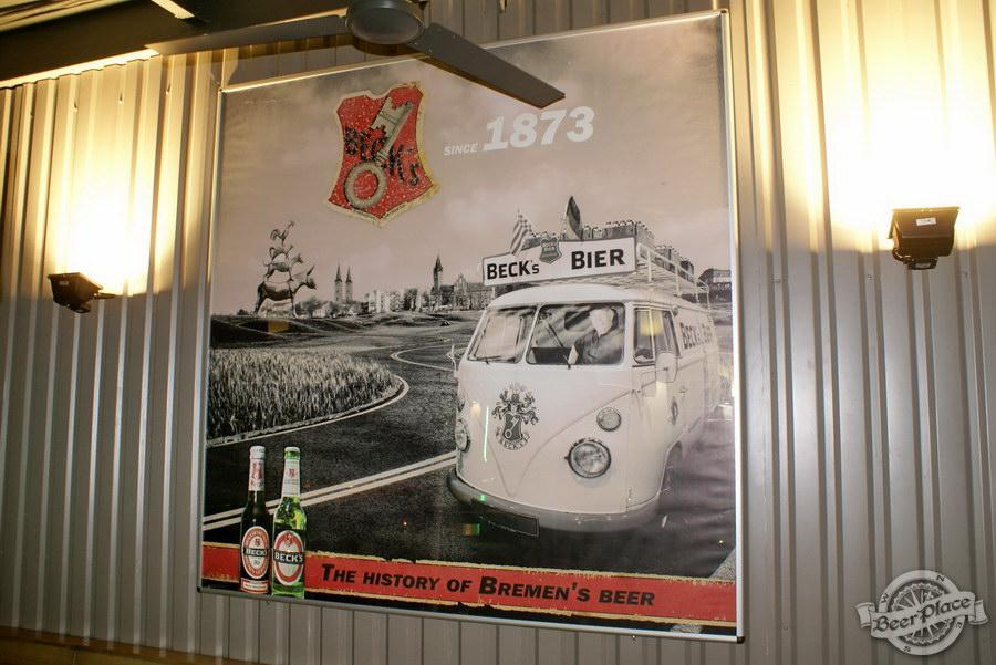 Обзор кафе Becks BeerLoft на Окружной в Ашане. Променада Парк. Летняя тарраса. Раритетный Volkswagen Transporter
