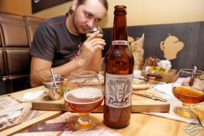 Дегустация домашнего пива Бельгийское десертное от Ets-Ukraine