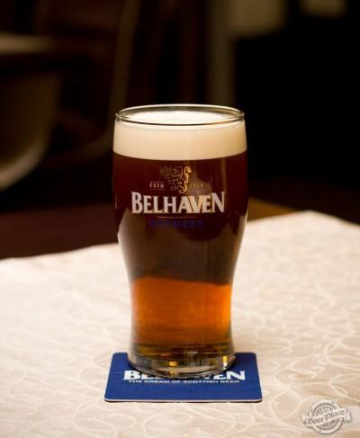 Дегустация разливного пива Belhaven Scottish Ale
