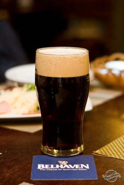 Дегустация пива Belhaven McCallums Stout