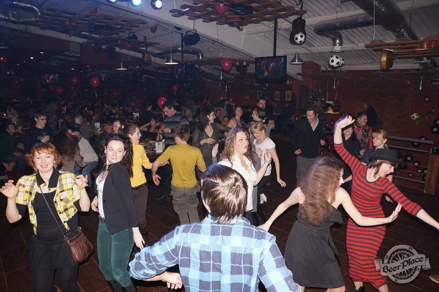 Открытие паба Big Ben в ТРЦ Дрим Таун   Big Ben Pub opening in Dream Town. Еврейские танцы