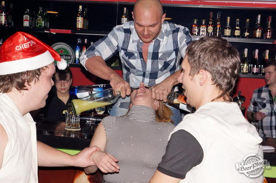 Открытие паба Big Ben в ТРЦ Дрим Таун   Big Ben Pub opening in Dream Town. Делаем коктейли