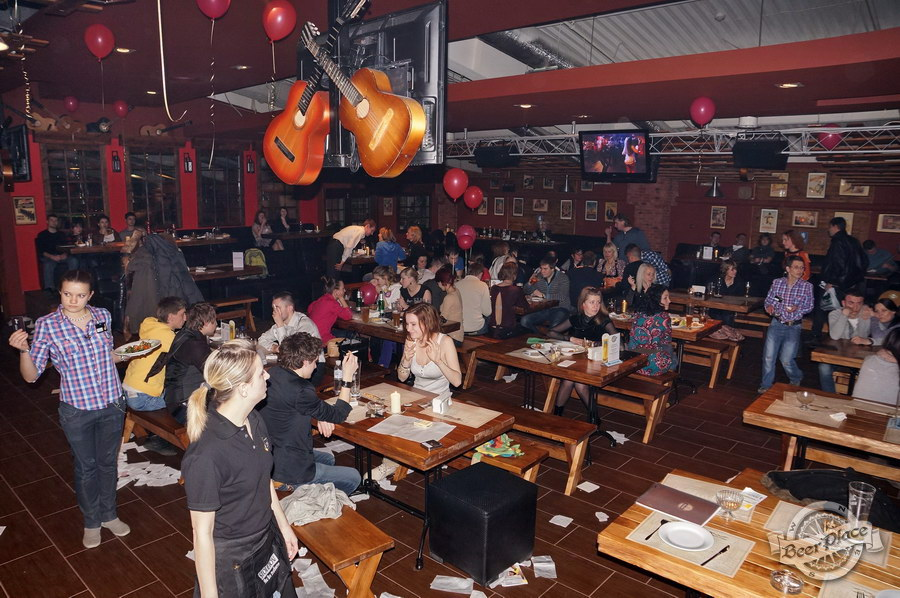 Открытие паба Big Ben в ТРЦ Дрим Таун | Big Ben Pub opening in Dream Town. Последствия грандиозной попойки