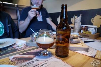 Дегустация домашнего пива Пшеничное и Биттер от Yuri