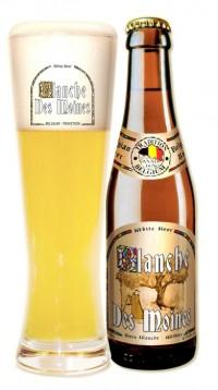 Бельгийское пиво Blanche des Moines в Поляне
