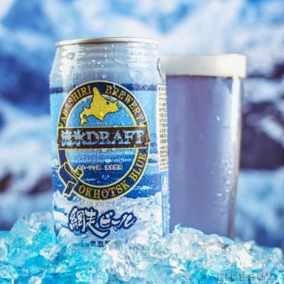 Голубое японское пиво