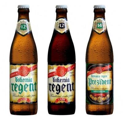 Bohemia Regent - новое чешское пиво в Новусах