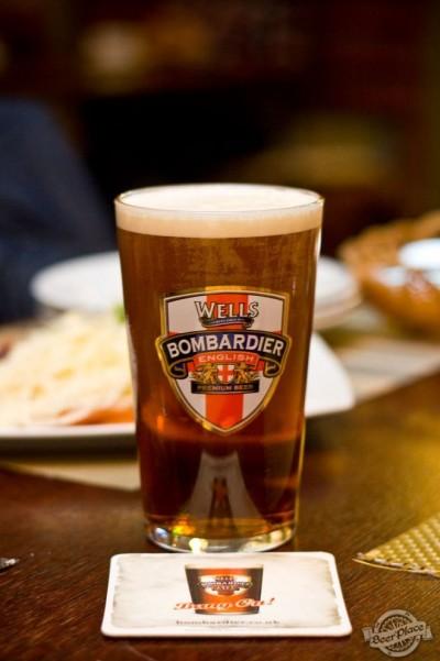 Дегустация пива Wells Bombardier