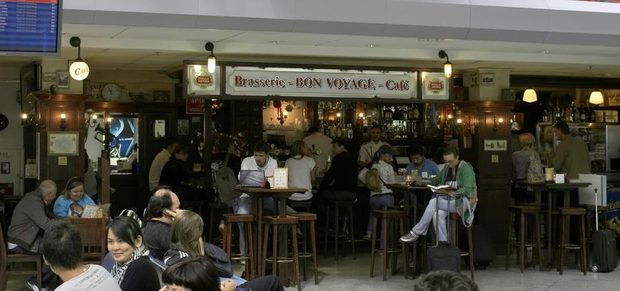 Аэропорт Борисполь. Бельгийское пивное кафе, брассерия Bon Voyage