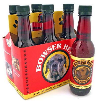 Bowser Beer. Пиво для собак