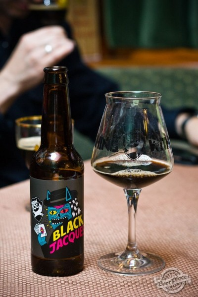 Дегустация пива BrewDog Black Jacques