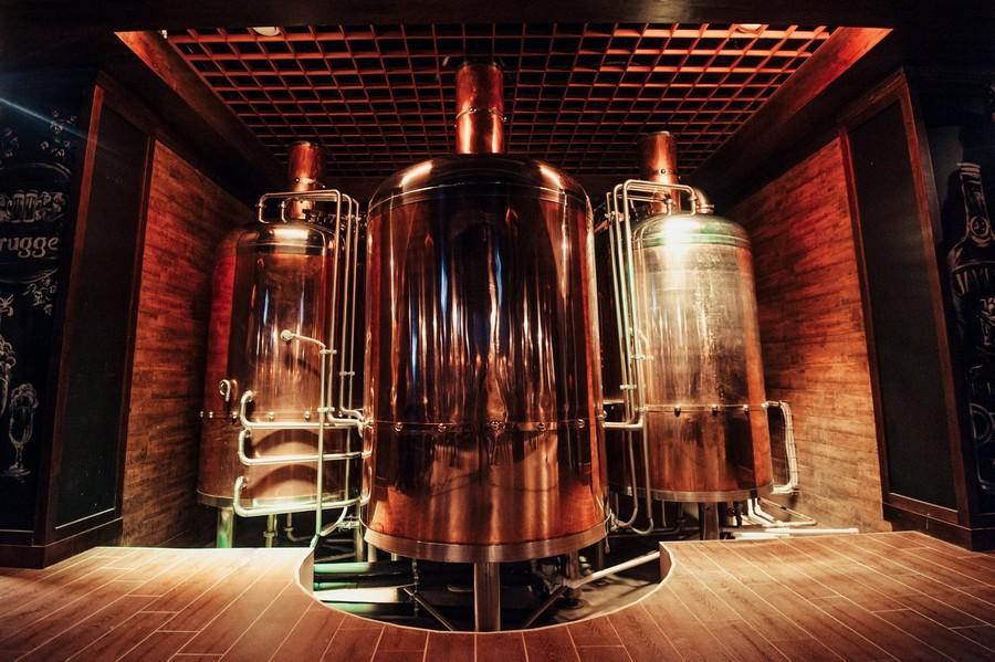 Мини пивоварни для ресторана самогонный аппарат купить спб доктор губер