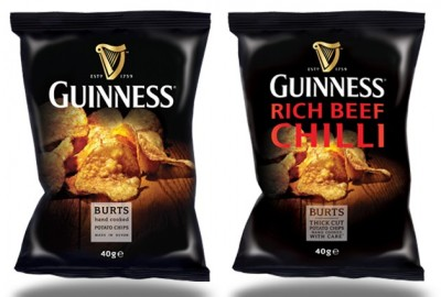 Чипсы во вкусом Guinness
