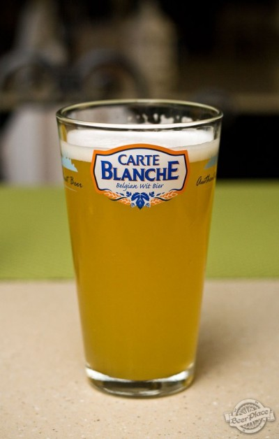 Дегустация пива Carte Blanche