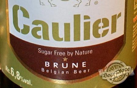 Дегустация пива Caulier Brune и Augustijn Donker в пабе Гастророк. Этикетка Caulier Brune