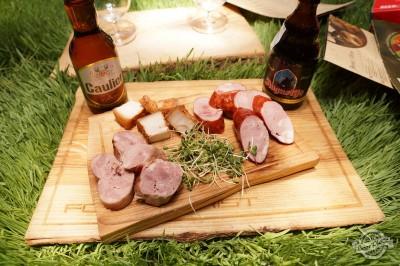 Дегустация пива Caulier Blonde и Augustijn Blonde в FoodTourist
