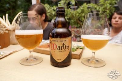 Дегустация пива Caulier Extra и St.Martin Blonde в БотСаде