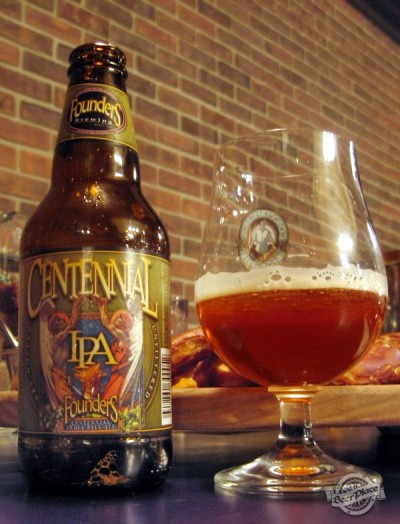 Дегустация Centennial IPA от Founders Brewing Company