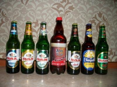 Два новых сорта Šeimininko alus и экспортное пиво Оболони в КиевеДва новых сорта Šeimininko alus и экспортное пиво Оболони в Киеве