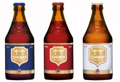 Траппистское пиво Chimay в полном составе в Сильпо