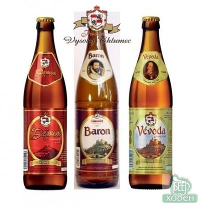 Новое чешское пиво от Pivovar Vysoky Chlumec