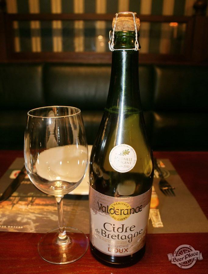Дегустация полусладких сидров. Cider de Bretagne DOUX