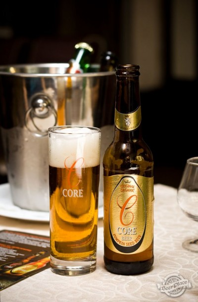 Дегустация пива Core blonde