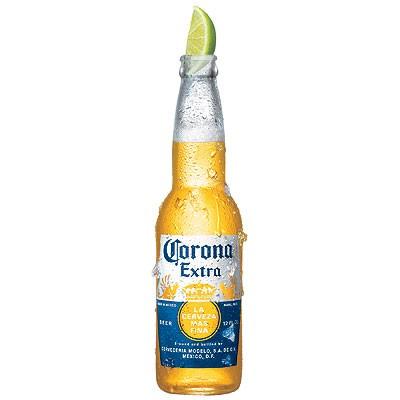 Акция на мексиканское пиво Corona Extra в супермаркетах Billa