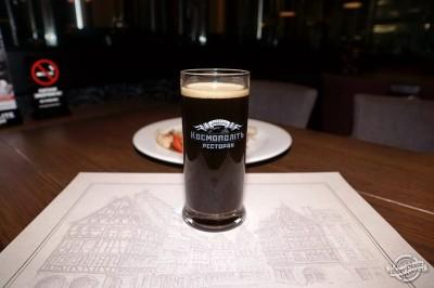 Дегустация пива в ресторане Космополит