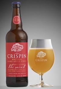 Сидр на пивных дрожжах от Crispin