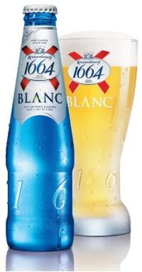 Kronenbourg 1664 Blanc - французское белое пшеничное пиво в Ашанах