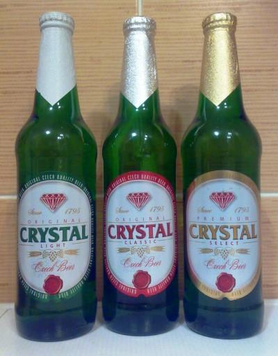 Crystal - новое пиво от Pivovar Samson в Украине
