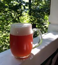 Эль на яфинах от гуцульськой пивоварни Ципа