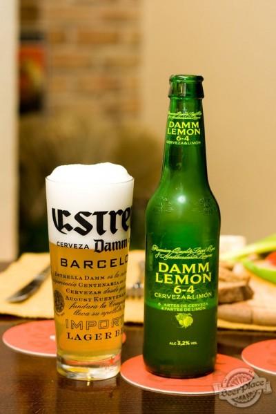 Дегустация Damm Lemon 6-4