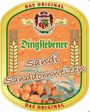 Дегустация бирмикса Dingslebener Sandi Sanddornweizen