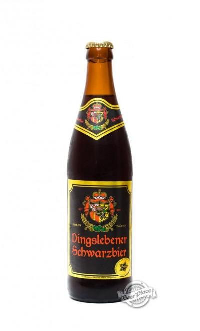 Dingslebener Schwarzbier - еще одна немецкая новинка в Варусах