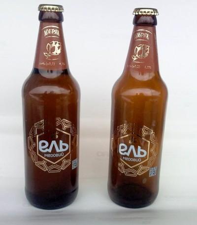 Медовый эль от Добряка теперь в стеклянных бутылках
